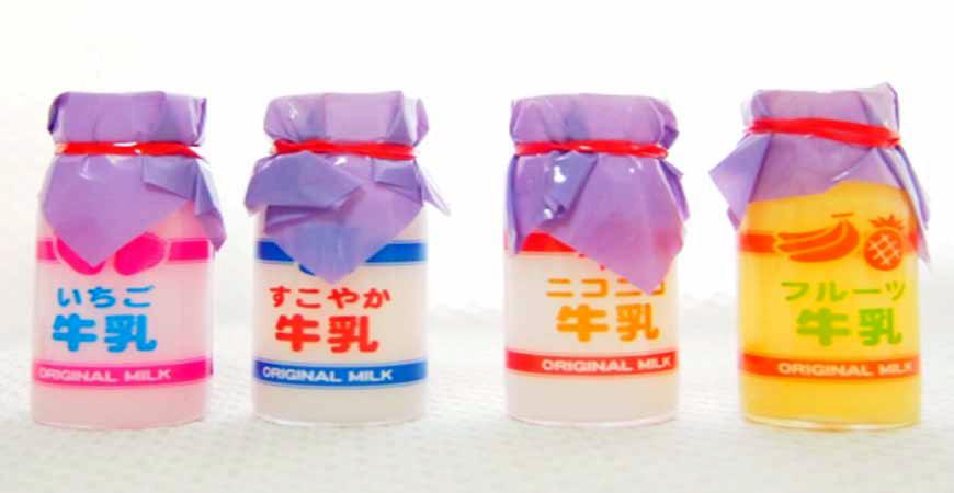 調味乳果汁牛奶牛示意圖