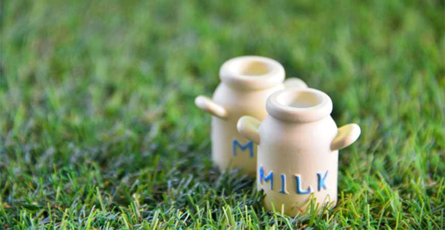 牛奶罐示意圖