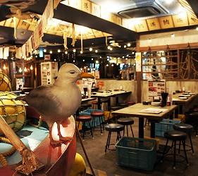 東京新橋海鮮料理ニッポンまぐろ漁業団的店內裝潢