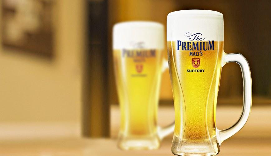 日本啤酒品牌SUNTORY三得利(サントリー)的啤酒「The Premium Malt's」(ザ・プレミアム・モルツ)的誕生故事、研發過程、好喝秘訣