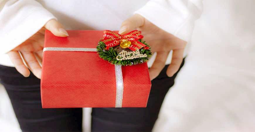 聖誕禮物示意圖