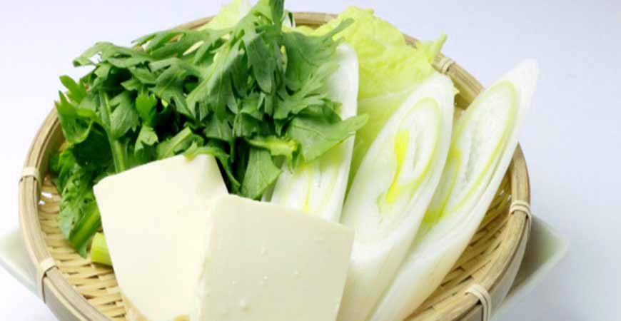 火锅蔬菜盘