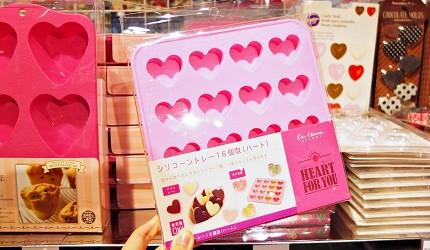 做巧克力心型模具示意图