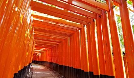 京都伏见稻荷神社千本鸟居
