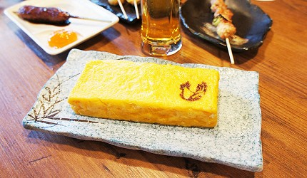 東京美食推薦串燒居酒屋「鶏鬨 勝どき店」的高湯玉子燒