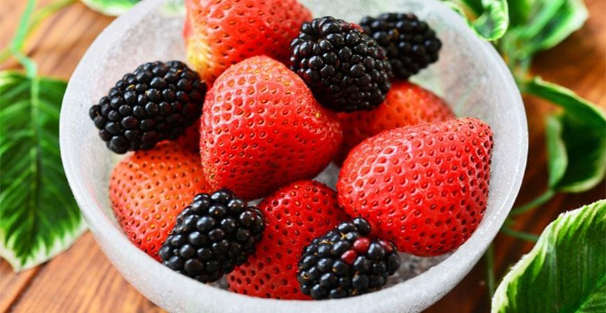 綜合莓果紅莓藍莓覆盆子桑椹