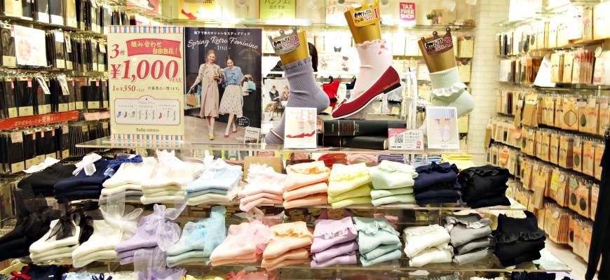 襪子也是時尚配件!日本必逛的5間連鎖襪子專賣店