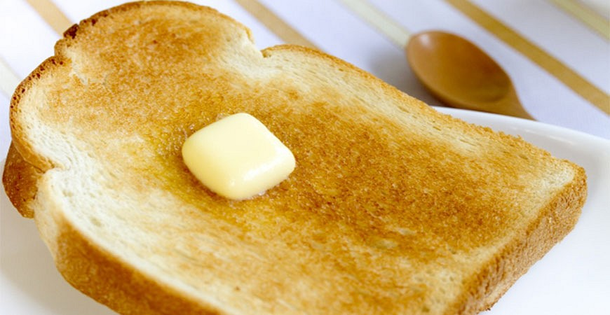 早餐麵包奶油示意圖