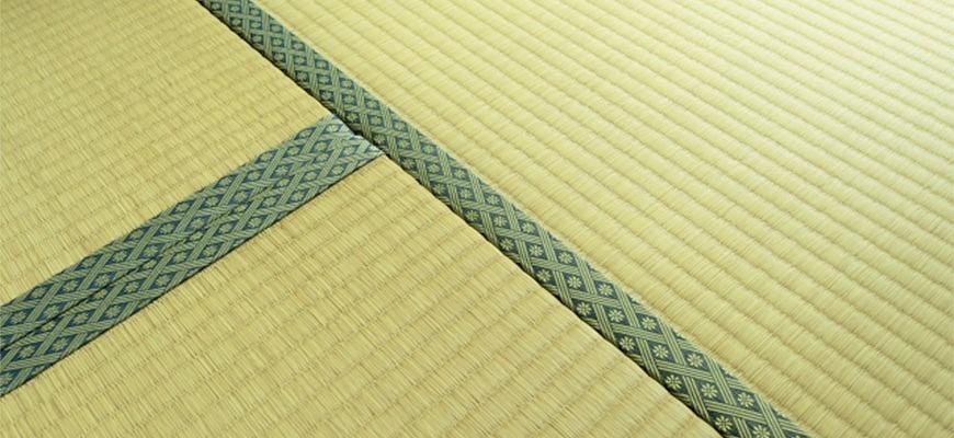 日本茶道和室日式榻榻米邊緣不能踩