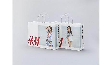 安室奈美惠聯名服飾購物袋日本Namie Amuro x H&M