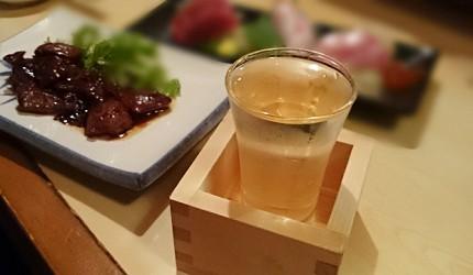 日本酒木盒玻璃杯枡酒