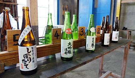 酒藏酒造见学试饮日本酒