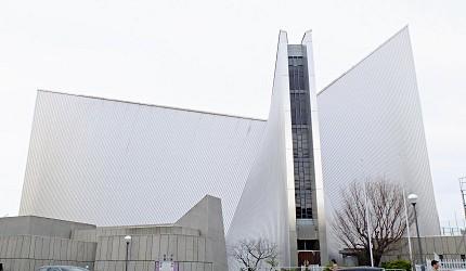 東京聖瑪麗大教堂是丹下健三作品