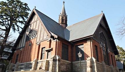 明治學院大學內的「明治學院禮拜堂」