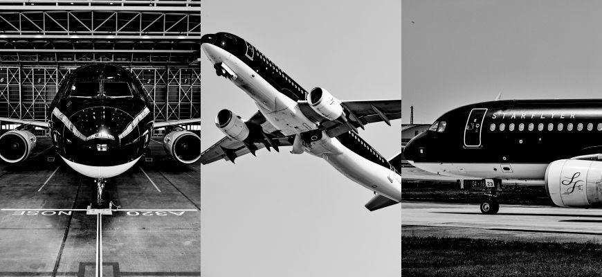 星悅航空starflyer廉航飛機照片