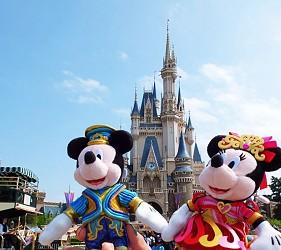 日本東京迪士尼度假區迪士尼樂園land迪士尼海洋sea
