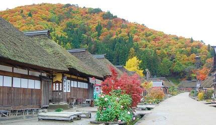 大内宿仍保有江户时代的宿场风情