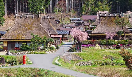 「京都美山」日本三大茅草屋聚落之一