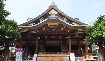 「湯島天滿宮」是考生必拜的神社