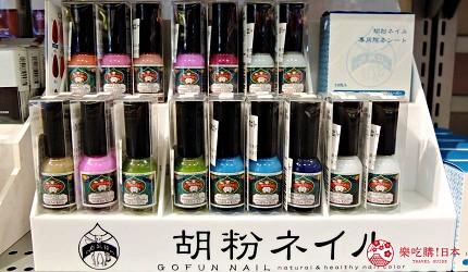 来自京都的天然指彩「上羽绘惣胡粉指甲油」