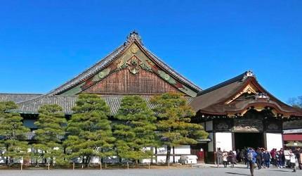 德川幕府再建的京都二条城屬於平城