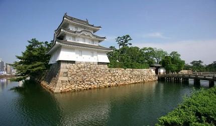 香川高松城是日本三大水城