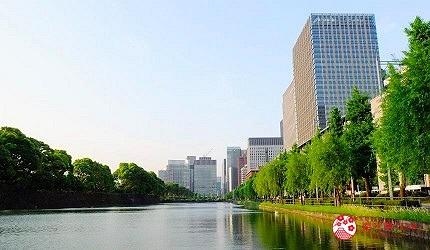 皇居週邊的護城河