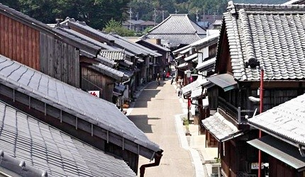「關宿」是東海道上少數保存完好的宿場町
