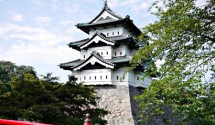 弘前城天守是現存十二天守中最晚建造的