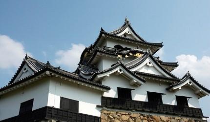 彥根城是德川幕府重臣井伊家的領地