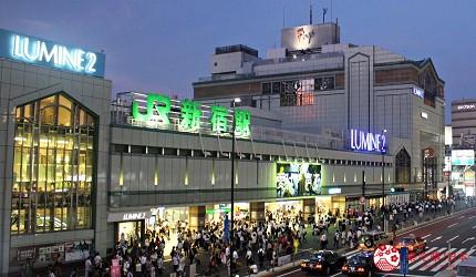 日本自由行必逛推薦好逛百貨公司外國人旅客優惠折扣辦理退稅免稅商品櫃台手續費LUMINE