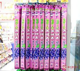 日本推薦便宜藥妝店「大國藥妝」店內的 「なが〜いさけるグミ」(超~長可撕開軟糖)