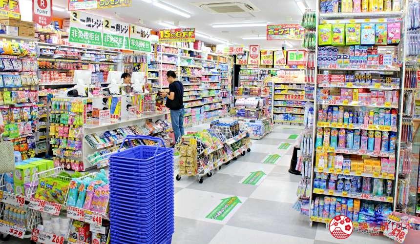 日本推薦便宜藥妝店「大國藥妝」東京的新宿東口店購物動線寬敞
