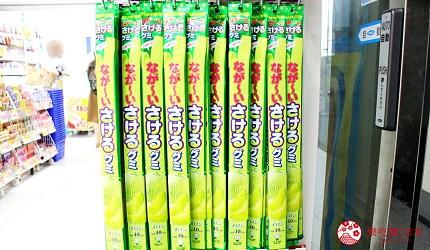 日本2020熱賣藥妝!大國藥妝店長推薦人氣必買軟糖「超長可撕軟糖」(なが〜いさけるグミ)