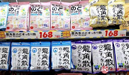 日本2020熱賣藥妝!大國藥妝店長推薦人氣必買潤喉糖「龍角散喉糖」