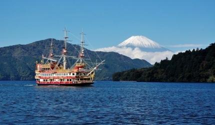 箱根眺望富士山巴士行程