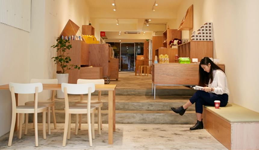 台灣台北市東區的 MiCHi cafe