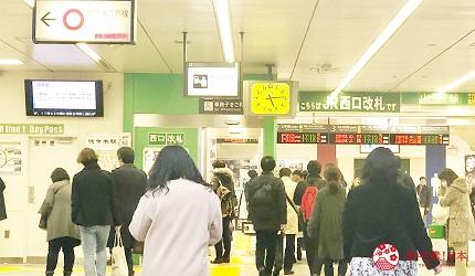 日本東京代代木車站西口