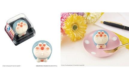日本LAWSON便利商店超可爱「哆啦A梦和菓子」舍不得吃但一定要买!
