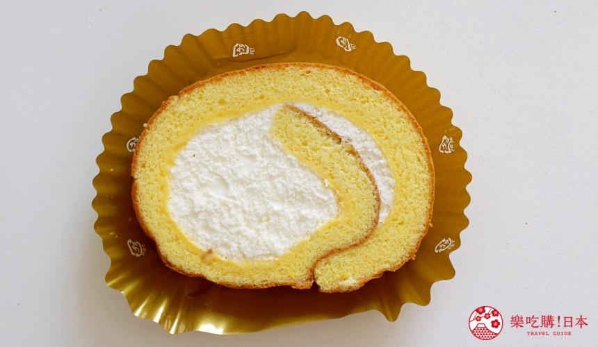 日本711限定甜點北海道產奶油海綿蛋糕捲