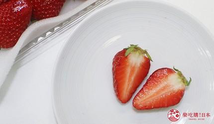 日本草莓紅臉頰