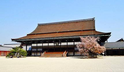 日本歷代天皇即位地點京都紫宸殿