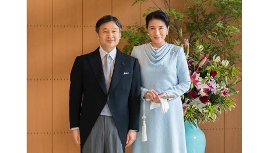 日本新天皇德仁天皇與雅子皇后