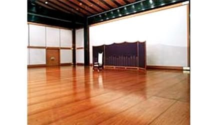 日本天皇退位儀式接待室「松之間」