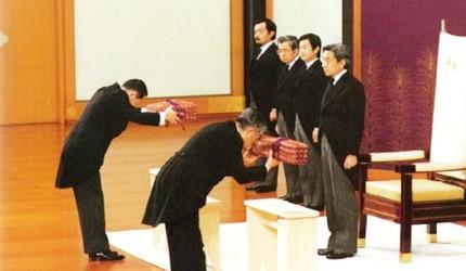 日本新天皇即位的「劍璽等繼承之儀」