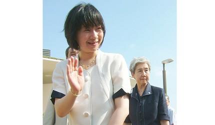 日本皇室的紀宮清子內親王照片