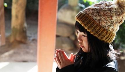 日本神社寺廟的鞠躬拜拜