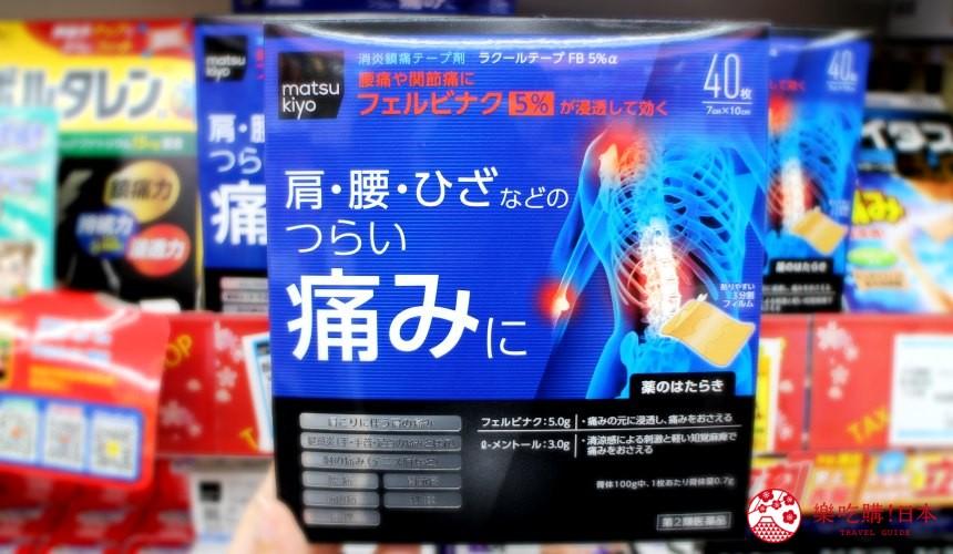 2020松本清藥妝必買RAKOOL涼感貼布