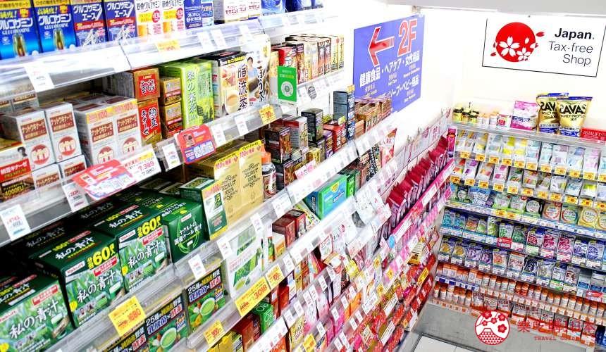 日本必買藥妝松本清店內