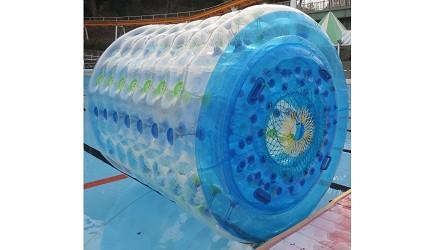 夏天去日本玩水消暑、暑假帶細路旅行放電最好玩的水上樂園精選推介,提供人造浪池、漂流河、巨型滑梯、水上滾筒、水上運動競技設施、兒童嬉水池等水上遊戲設備的水上樂園7選中的姬路市まちづくり內的水上滾筒
